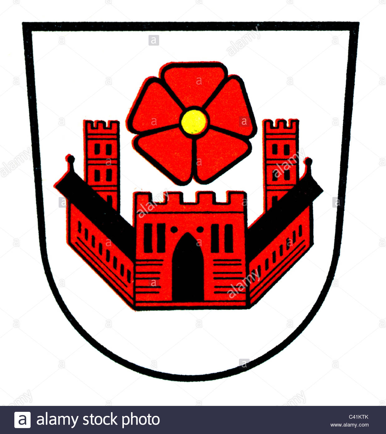 1237x1390 Coat Of Arms Emblems, Lippstadt, City Arms, North Rhine