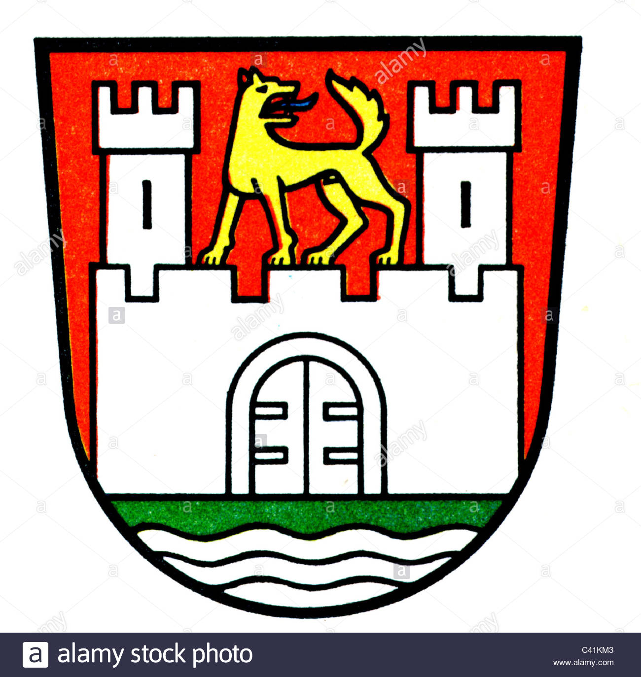 1300x1374 Coat Of Arms Emblems, Wolfsburg, City Arms, Lower Saxony
