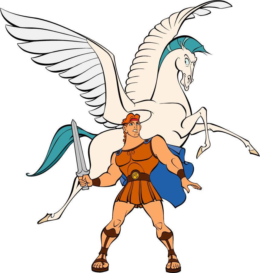858x902 Mythical Clipart Hercules
