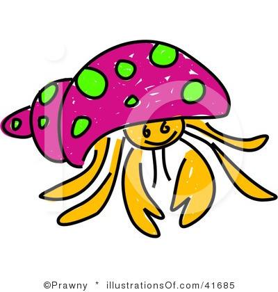 400x420 Crab Clipart Hermit Crab