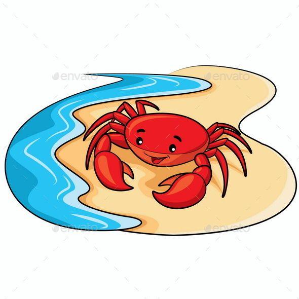 590x590 The Best Crab Cartoon Ideas Crustacean Crab