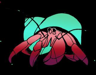 Hermit Crabs Clipart | Free download best Hermit Crabs