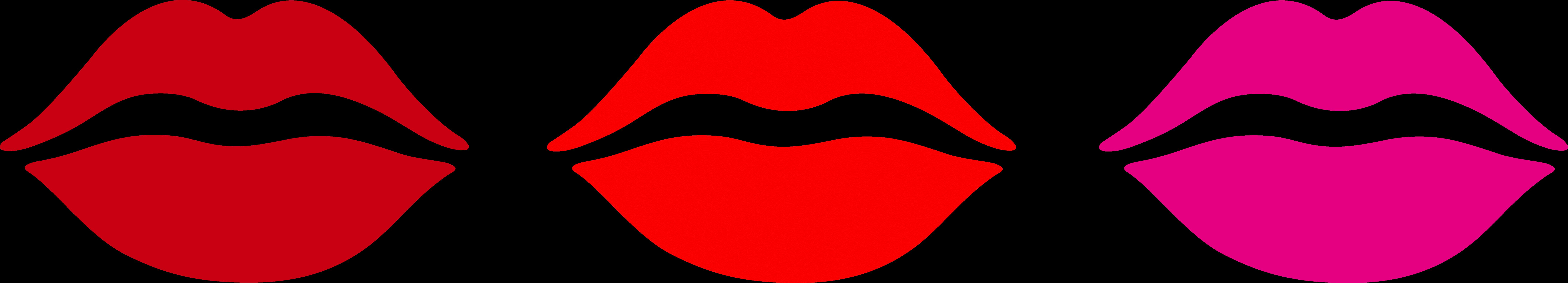 8778x1586 Kiss Cliparts