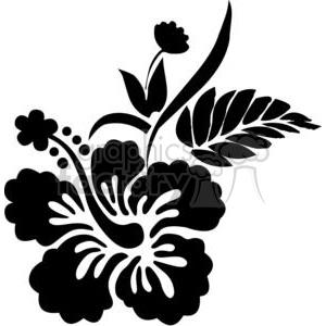 300x300 White Clipart Hibiscus Flower