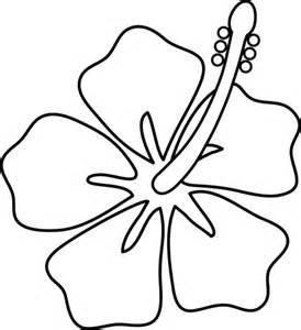 274x300 White Hibiscus Clipart