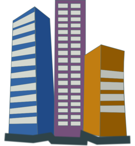 276x299 Real Estate High Rise Buildings Clip Art