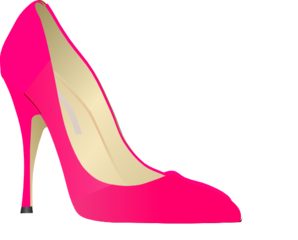 298x240 High Heel Clip Art