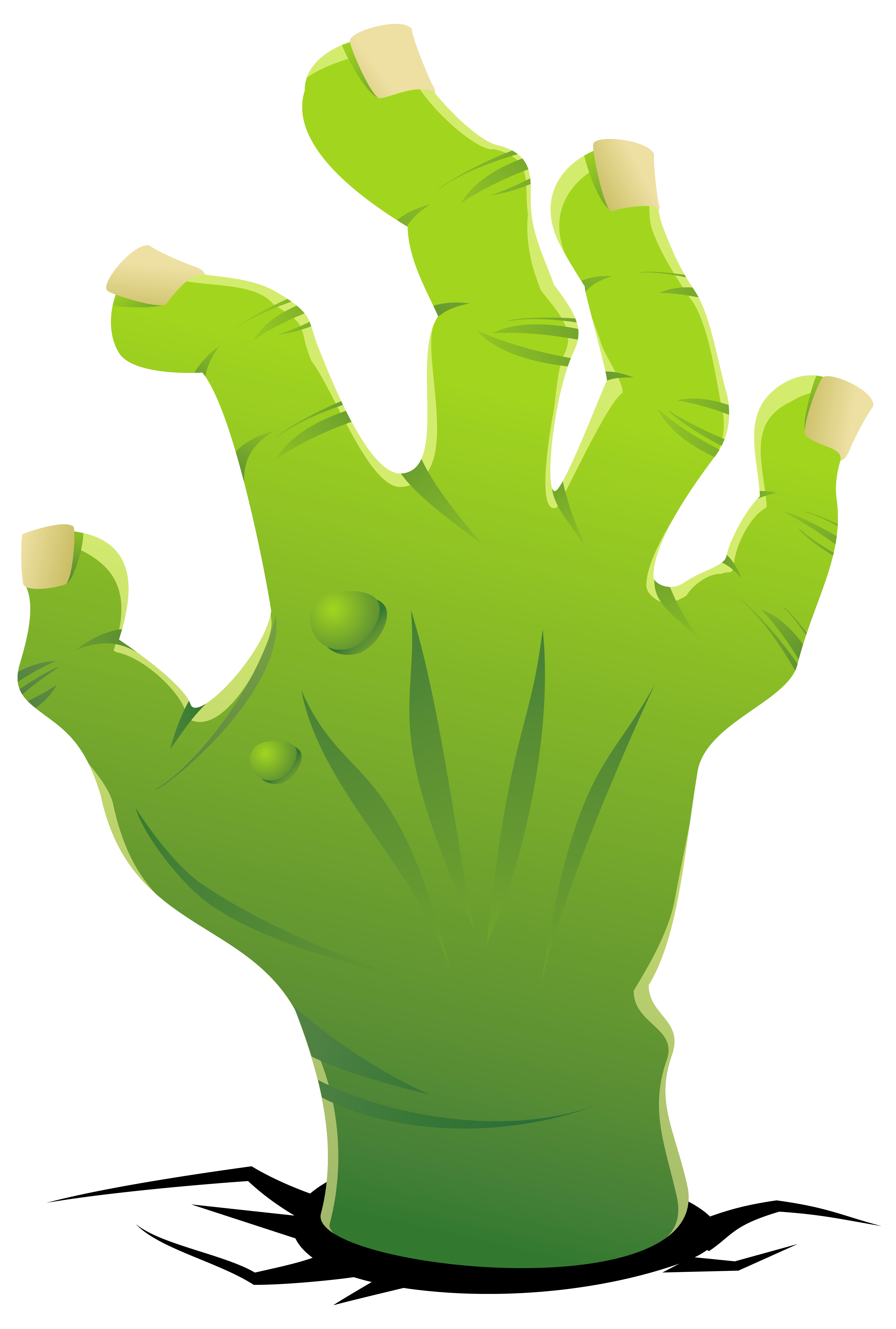 3979x5899 Zombie Hand Clipart Image
