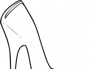 310x233 Floral High Heel Shoe Design Vector Free Vectors Ui Download
