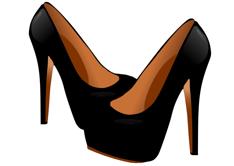 800x566 Free High Heel Shoes Clip Art