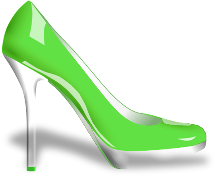 440x359 Glossy High Heels Clip Art Download