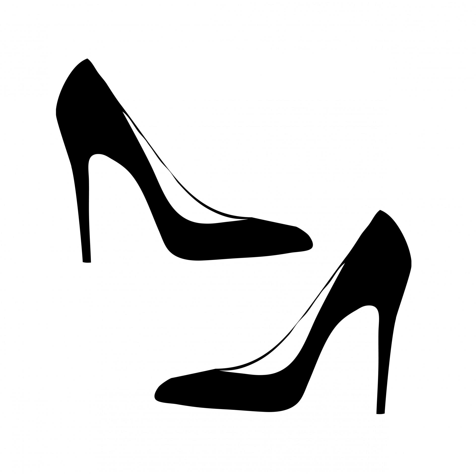 1919x1913 Heels Clipart Women's Shoe