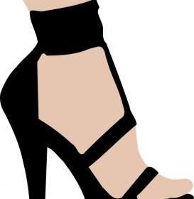 273x280 High Heels Red Shoe Clip Art Vector Clip Art Free Vector Free Download