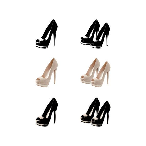 570x570 Pink High Heels Clip Art