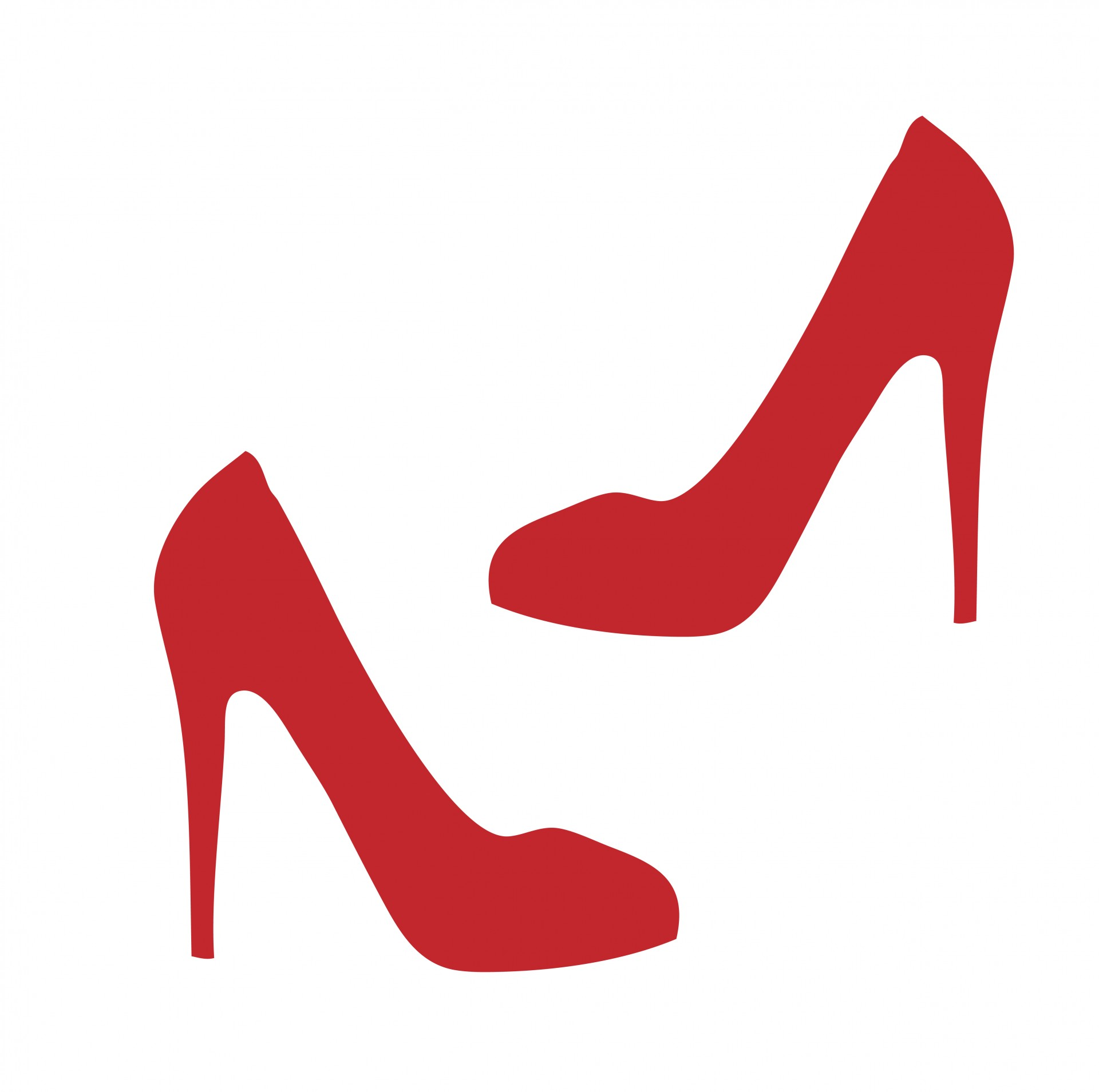 1920x1909 Clipart High Heels Red Shoe