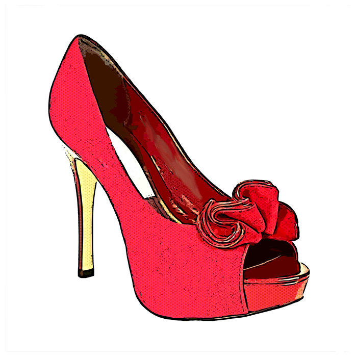 700x700 Clipart High Heels Red Shoe Clipartfest 2