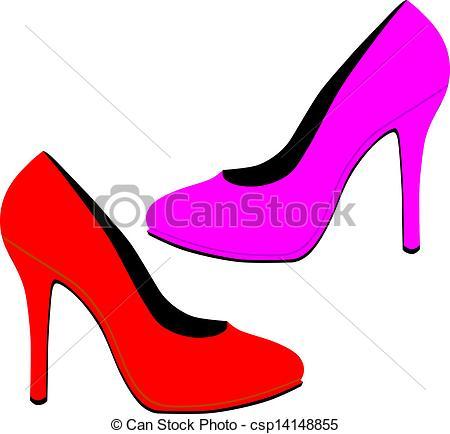 450x434 High Heels Clip Art