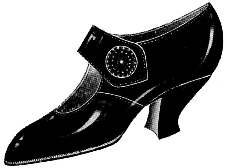 749x556 Ladies Shoe Clipart