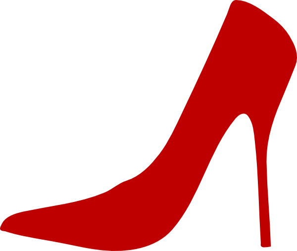 600x507 Red Shoe Clip Art