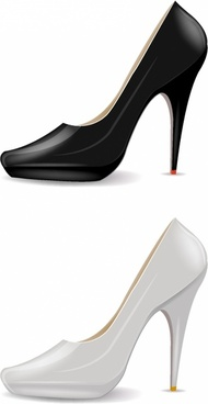 190x368 High Heel Shoe Silhouette Free Vector Download (6,522 Free Vector