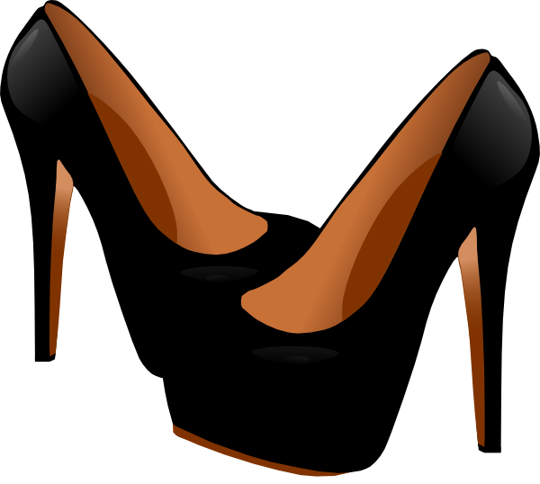 600x538 High Heel Silhouette Free Vector For Free Download About Free