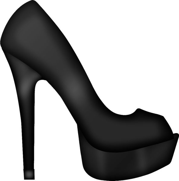 High Heeled Shoe Clipart