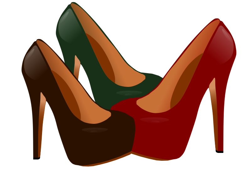 800x566 Heels clipart high heeled shoe