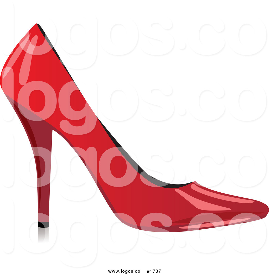 1024x1044 Royalty Free Design of a Red High Heel Logo by Eugene