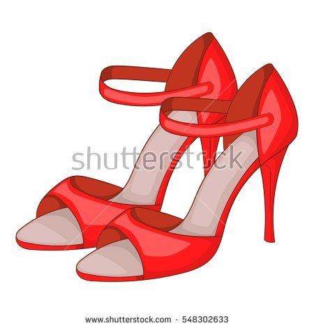 450x470 Tango Shoes Clipart