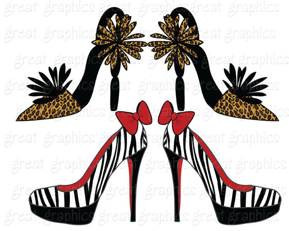 570x456 Shoe Clipart Shoe Clipart Crazy Shoes Digital Clip Art Shoe