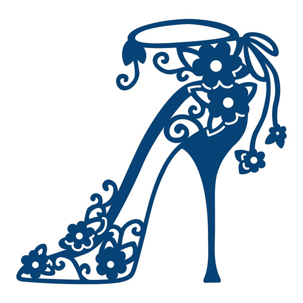 1000x1000 Yellow Clipart High Heel