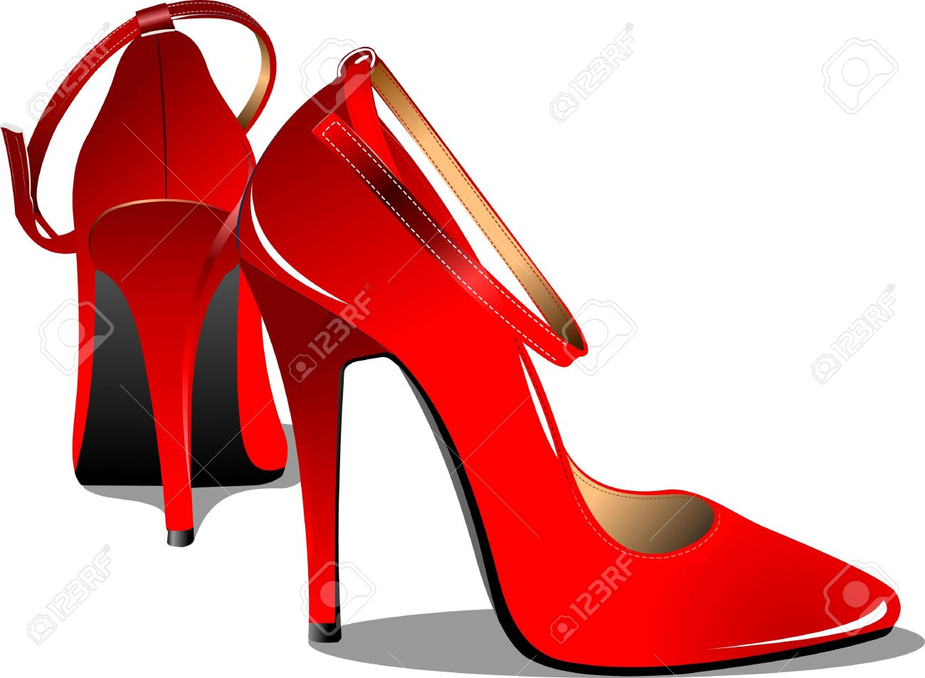 1300x953 Fashion Clipart Pair Heel