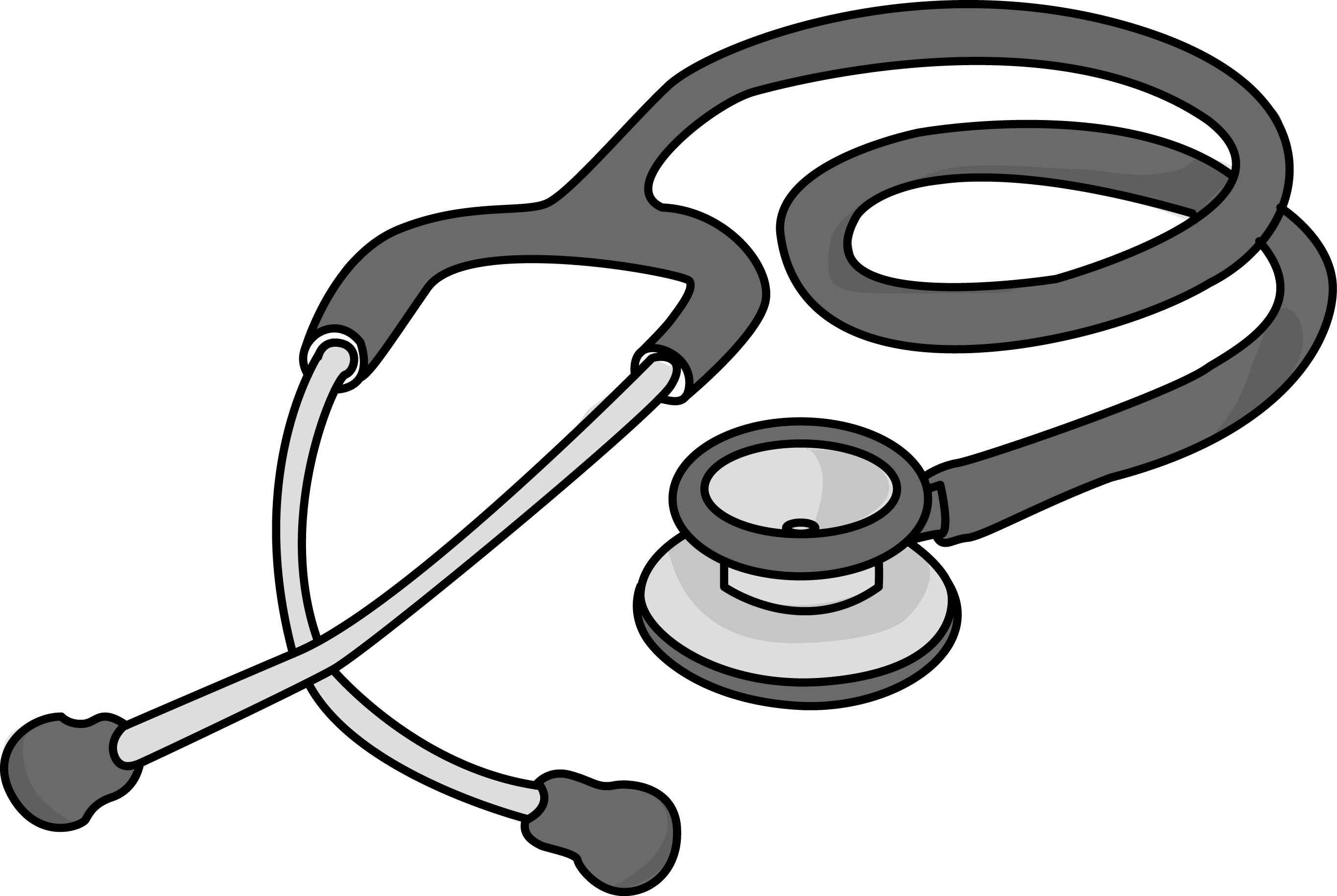 2730x1829 Free Cardiology Stethoscope Health High Resolution Clip Art All