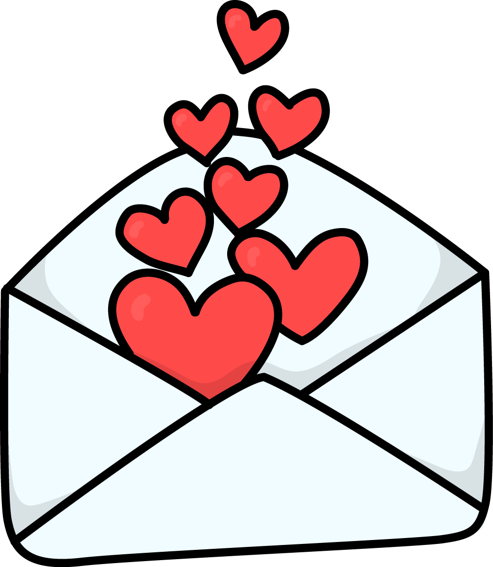 1007x1156 Image For Free Love Letter 2 High Resolution Clip Art