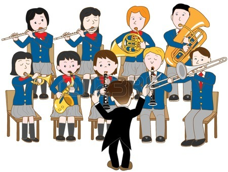 High School Band Clipart