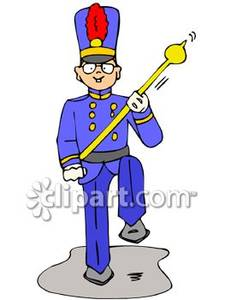 225x300 High School Marching Band Clipart