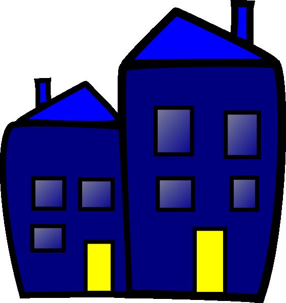 564x598 Building Clipart