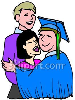 263x350 High School Graduate Clip Art