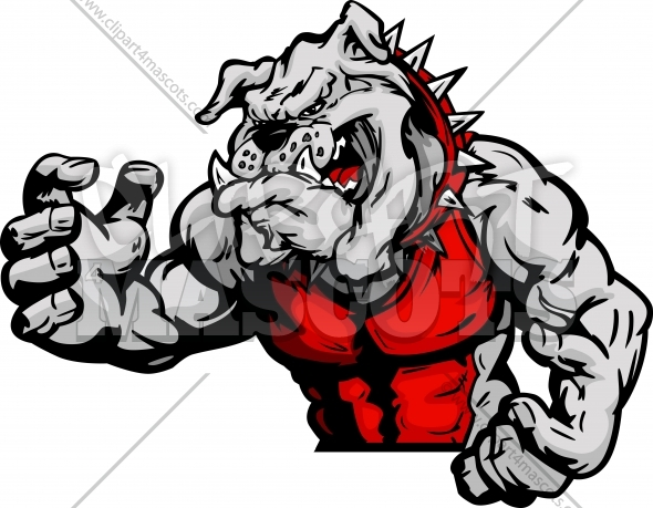 590x459 Bulldog Wrestling Clipart