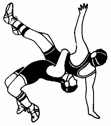 366x415 Wrestler Clipart High School Wrestling