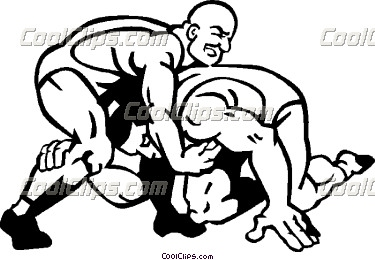 375x260 Wrestler Clipart Win