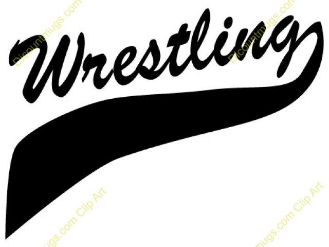 640x480 Wrestling Clip Art