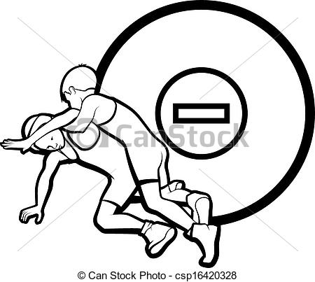 450x403 Female Junior Wrestling Clipart