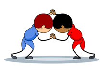 210x153 Free Sports Wrestling Clipart Clip Art Pictures Graphics