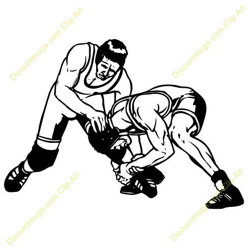 500x500 Wrestler Clipart High School Wrestling
