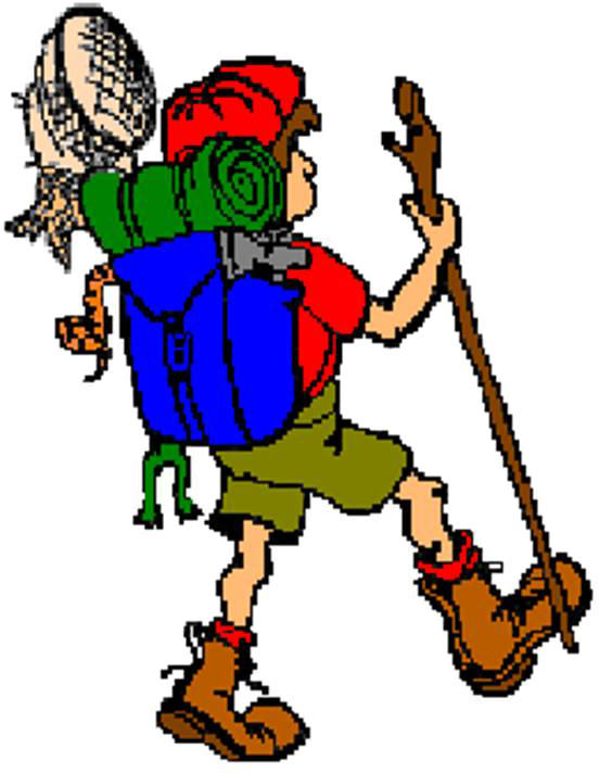 552x712 Hiking Clipart Scouting Activity
