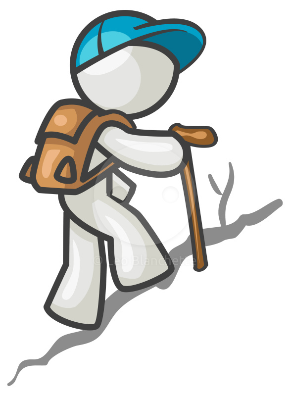 586x800 Hiking Hiker Clipart 2 Image 2
