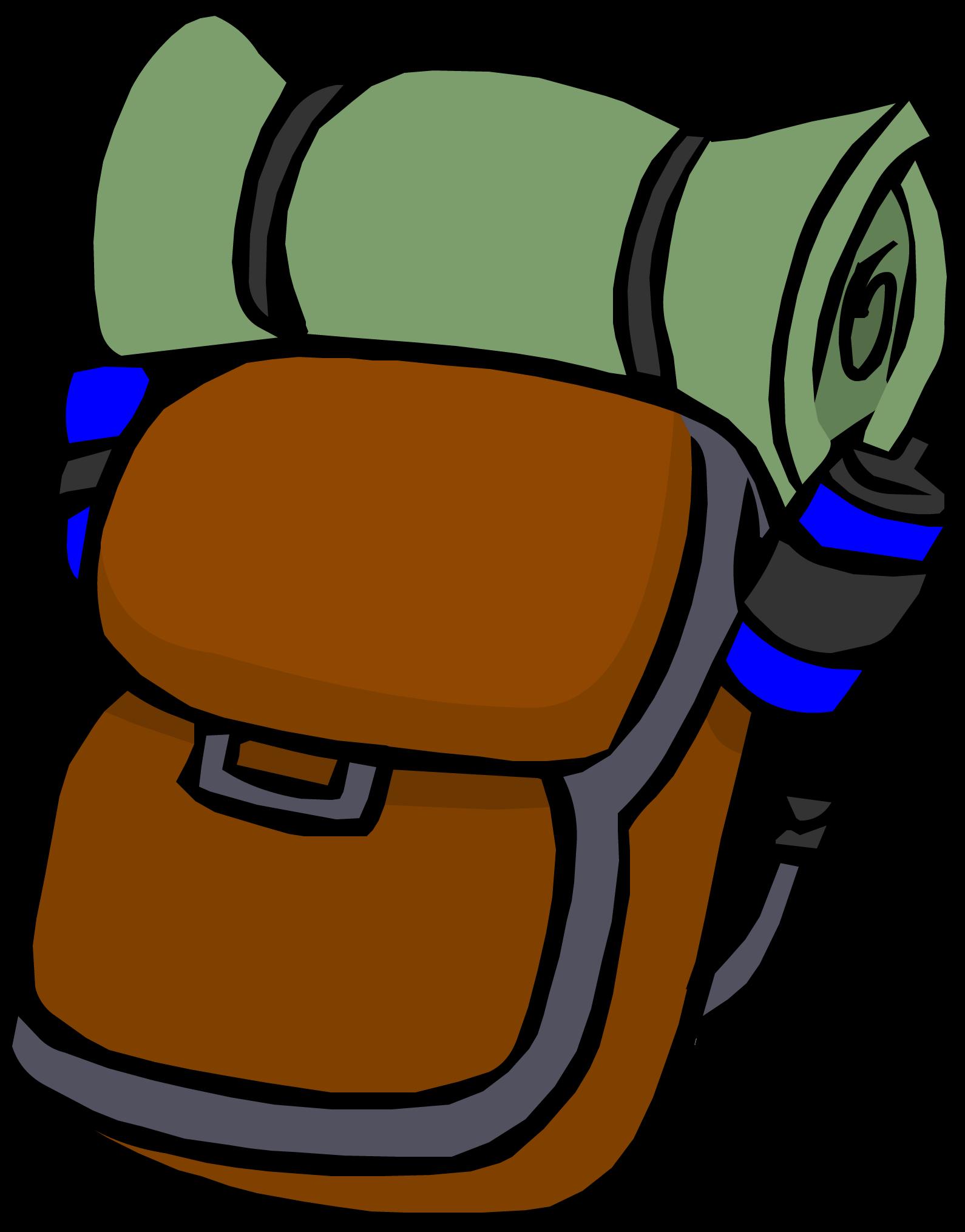 1590x2030 Hiking Backpack Club Penguin Wiki Fandom Powered By Wikia