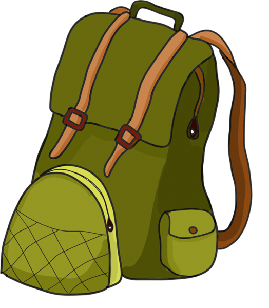 524x600 Hiking Backpack Clipart 3 Nice Clip Art