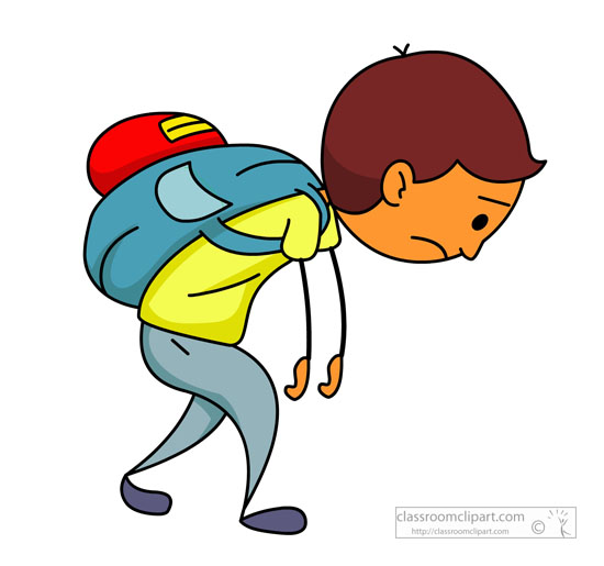 550x515 Tired Clipart Hiking